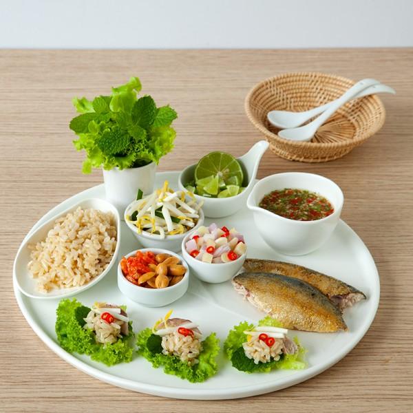 Tidbits Rice Salad Wraps